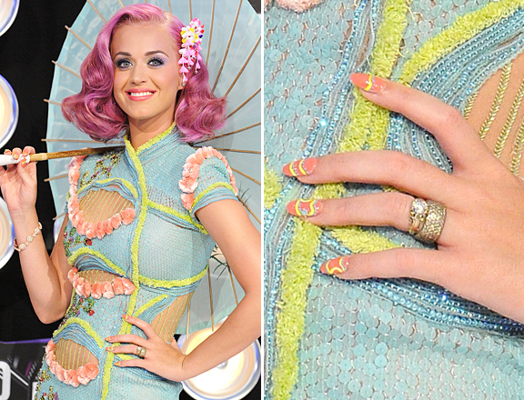 Katy Perry On Her Nail Gameain Astrowifey