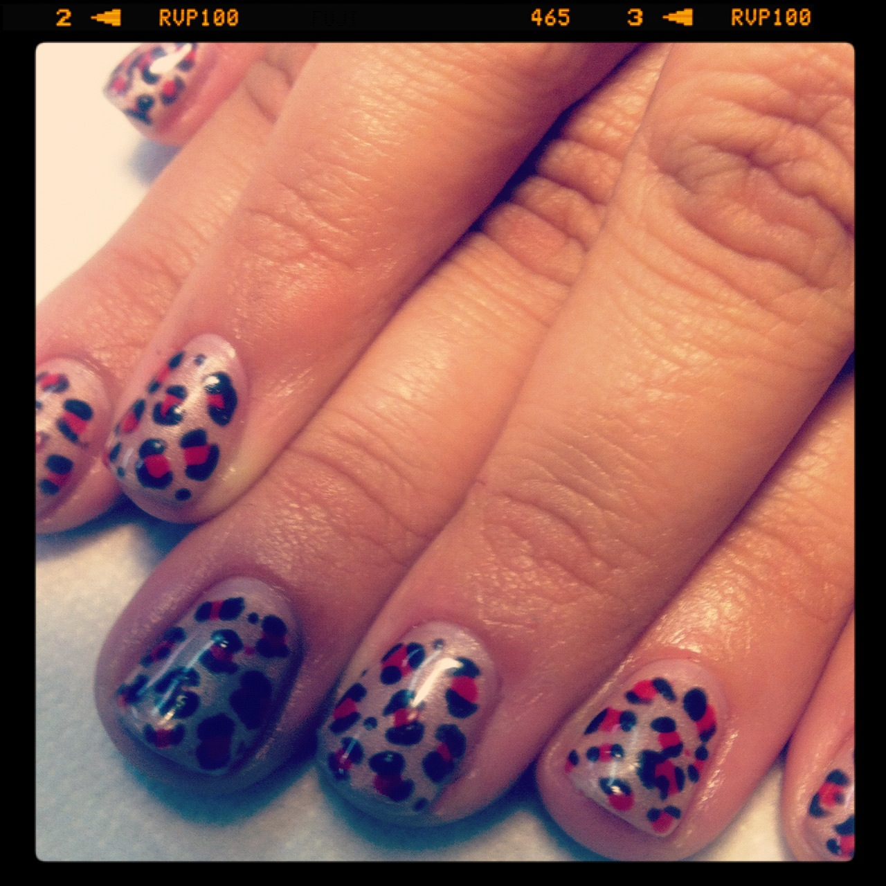 No chip design cheetah astrowifey another no chip manicure design yes ladies that means the polish and design will last 2 weeks of more i added no chip manicures to my menu selection on prinsesfo Gallery